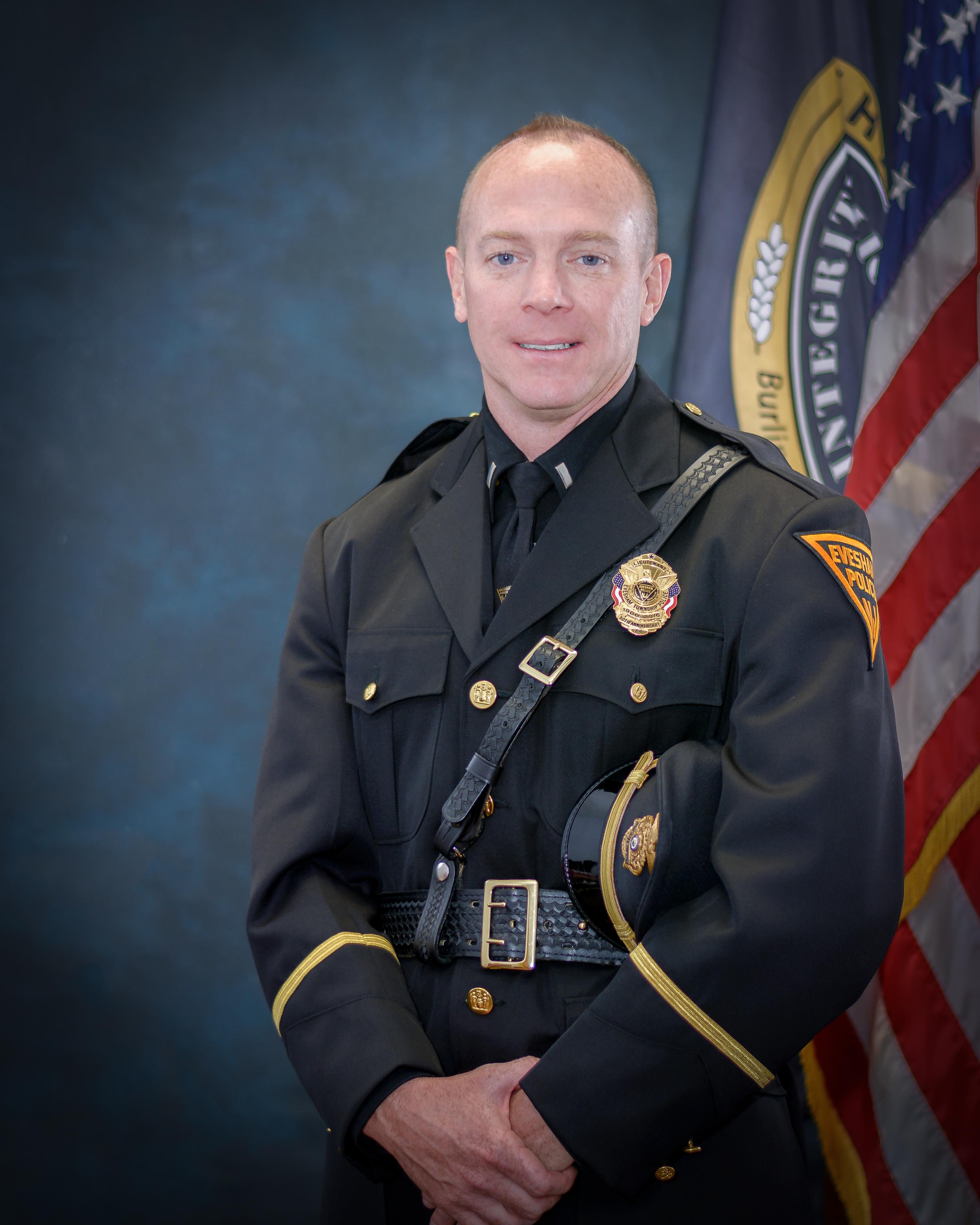 Support Services Bureau Commander - Lieutenant Brian Rosenberg