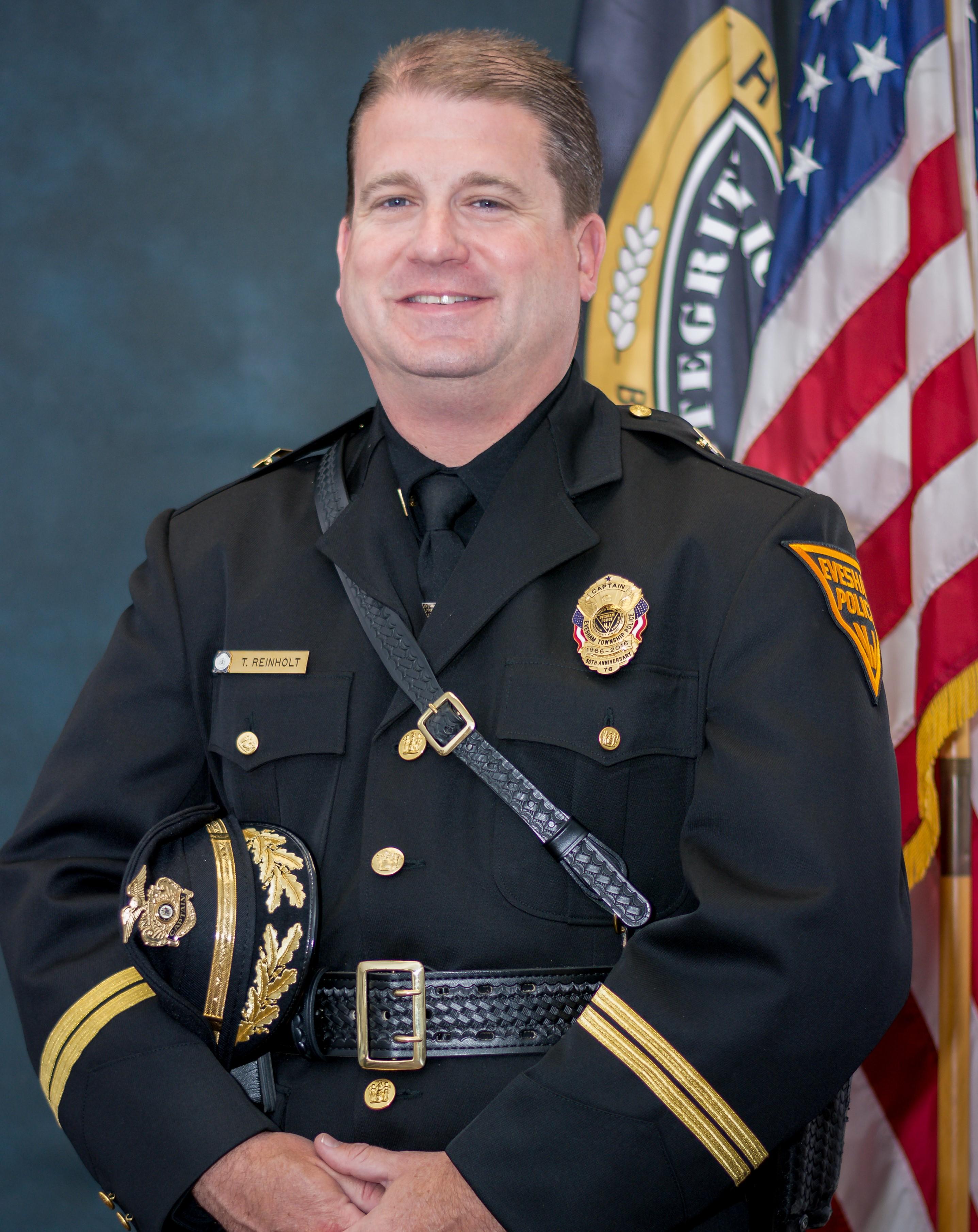 Administrative Division Commander - Captain Thomas Reinholt
