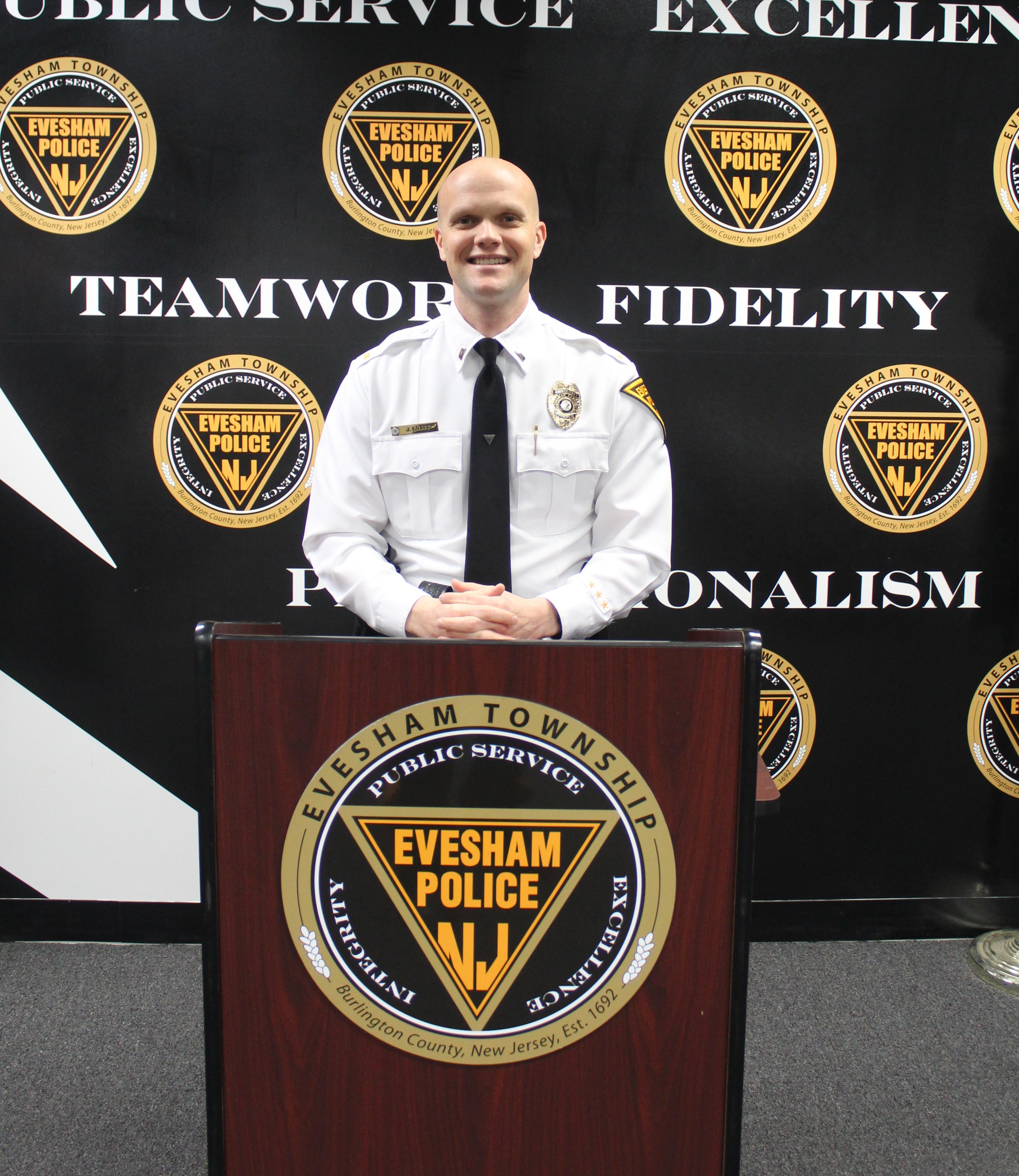 Investigative Bureau - Lieutenant Justin Graff